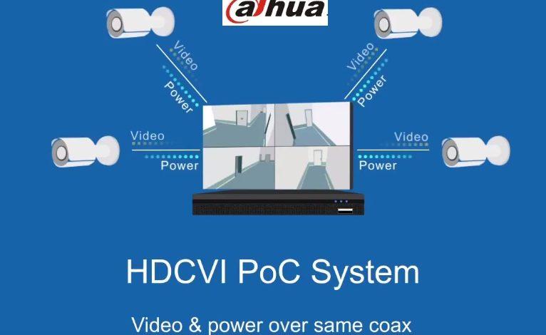 Dahua HDCVI PoC Technology