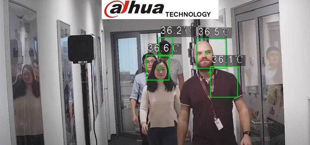 Dahua Human Temperature Detecting Thermal Device