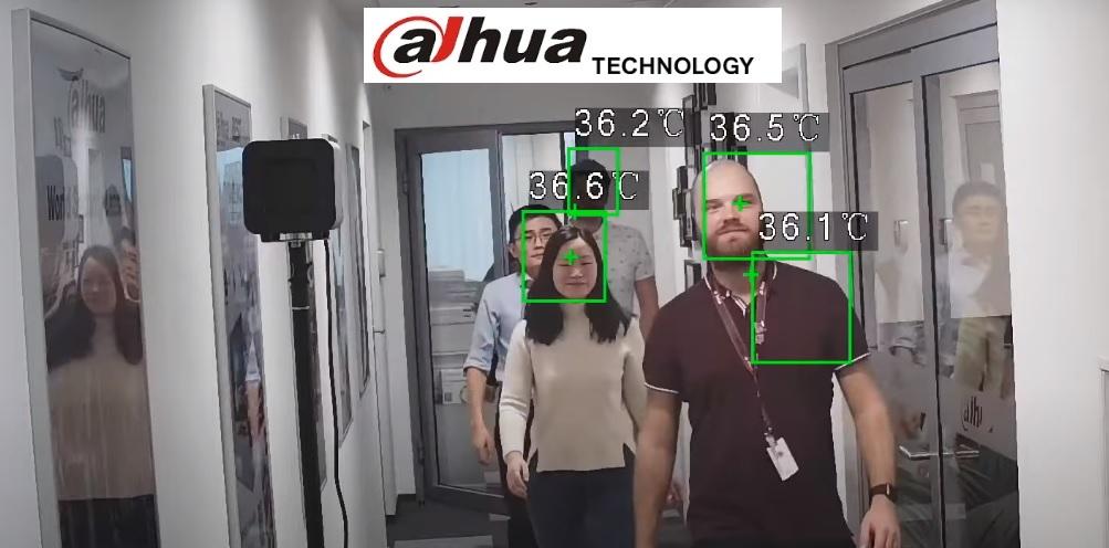 Dahua Human Temperature Detecting Thermal Device | Dahua